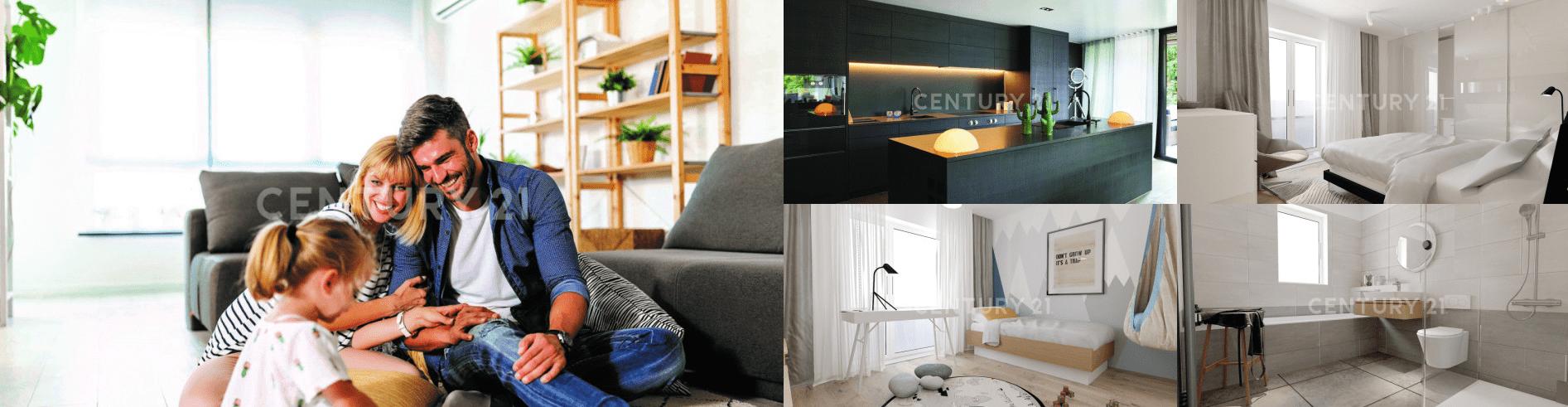 Komfortables Wohnen in heller 4 Zi-Wohnung im Herzen von Neusäß